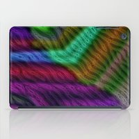 knit iPad Cases featuring Knit by RingWaveArt