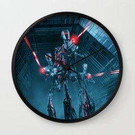The Assault Wall Clock