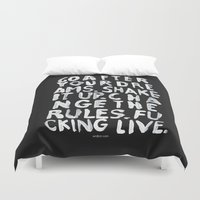 live Duvet Covers featuring LIVE by WRDBNR