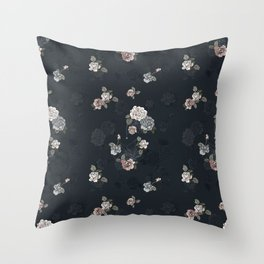 Ghost Roses Throw Pillow