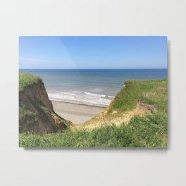 Seaside Cliffs Metal Print