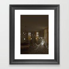 Serenity interrupted Framed Art Print