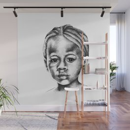 Ebony Wall Mural
