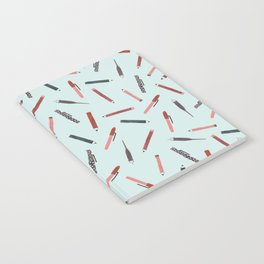 Pens and pencils Notebook