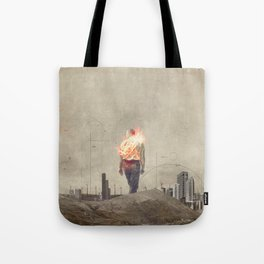 These cities burned my soul Tote Bag