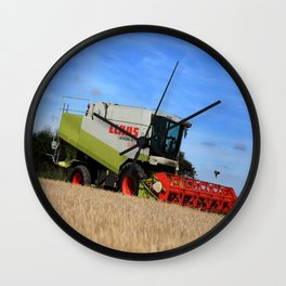 A Touch Of Claas 'Claas Lexion 470' Combine Harvester Wall Clock