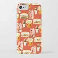 junk food iPhone & iPod Cases featuring Junk Food by popsicledonut