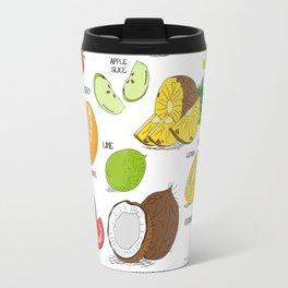 Cocktail Ingredients! Travel Mug