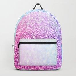Uniorn Sparkle Pink Lavender Blue Seafoam Backpack