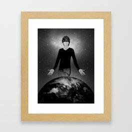 I am Justice Framed Art Print