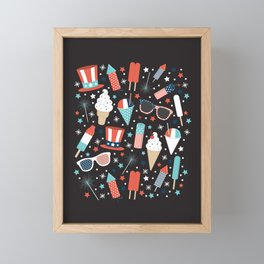 American Summer Framed Mini Art Print