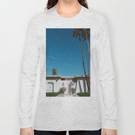 Palm Springs Pink Door Long Sleeve T-shirt