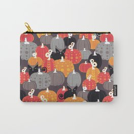 Find the Halloween Black Cat Carry-All Pouch