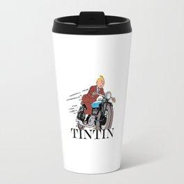 Tintin racing Travel Mug