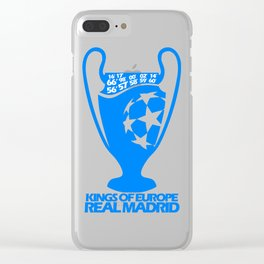 Real Madrid Champions League Clear iPhone Case
