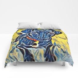 Pop Art Jack Russell Comforters