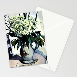 """Flannel Flowers"" by Australin Margaret Preston Stationery Cards"