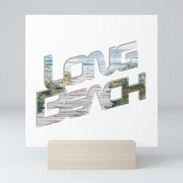 Long Beach Mini Art Print