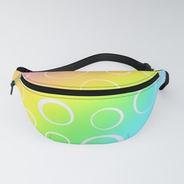 Colorful Rainbow Gradient Design! Fanny Pack