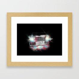 112.6 FM Framed Art Print