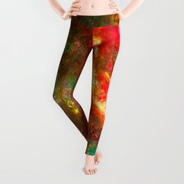 Fire Fairy In Paradi Leggings
