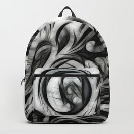 Glowing Floral Invert Backpack