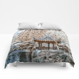 Chinese Garden Infrared Comforters