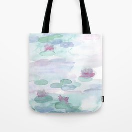 Monet Lily pads Tote Bag