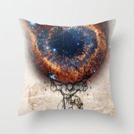 Galaxy Atlas Throw Pillow