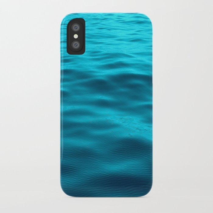 Water : Teal Tranquility iPhone Case