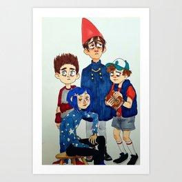 "The Para""normal"" club Art Print"
