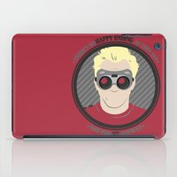 neil gaiman iPad Cases featuring [ Doctor Horrible ] Dr. Sing-Along Blog Neil Patrick Harris by Vyles