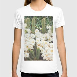 Cactus and Flowers T-shirt