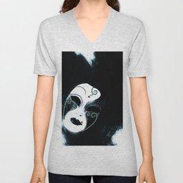 Venetian Mask of Mystery Unisex V-Neck