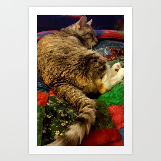This is the life! Art Print