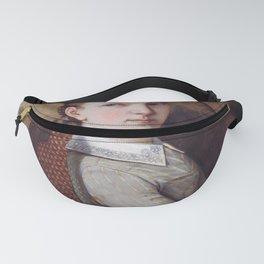 Gustave Courbet - Portrait de Juliette Courbet Fanny Pack