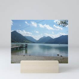 Lake Schliersee Mini Art Print