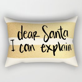 Dear Santa Rectangular Pillow