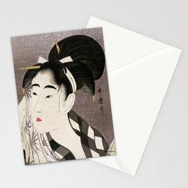 Kitagawa Utamaro, Japanese Woodblock Print Stationery Cards