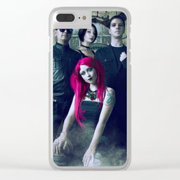 Stacy 16 Clear iPhone Case