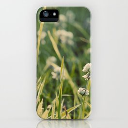Dusk in the Field iPhone Case