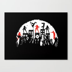 Step up Canvas Print