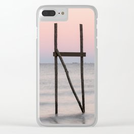 Dusk on the Horizon Clear iPhone Case