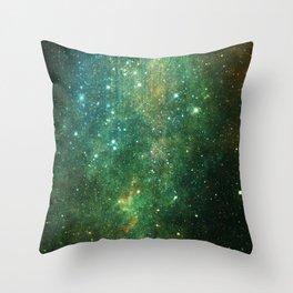 Desert Night Sky Throw Pillow