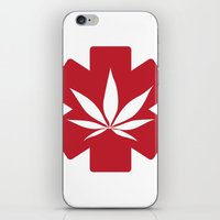 medical iPhone & iPod Skins featuring Medical Marijuana by WeedPornDaily