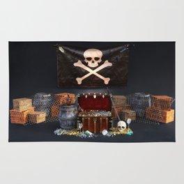 Pirate Treasure Rug