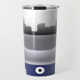 New Orleans - MSY - Airport Code and Skyline Travel Mug