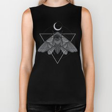 Occult Moth Biker Tank