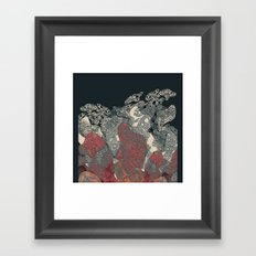 Guess what! Framed Art Print