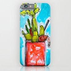 Sunday Funday Bloody Mary Mania iPhone 6 Slim Case